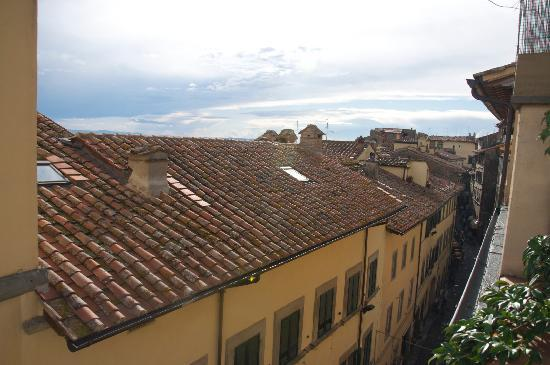 Casa Chilenne B&B: View from the roof terrace 1