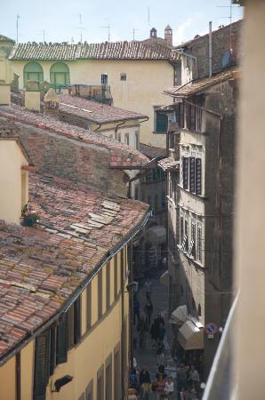 Casa Chilenne B&B: View from roof terrace 2