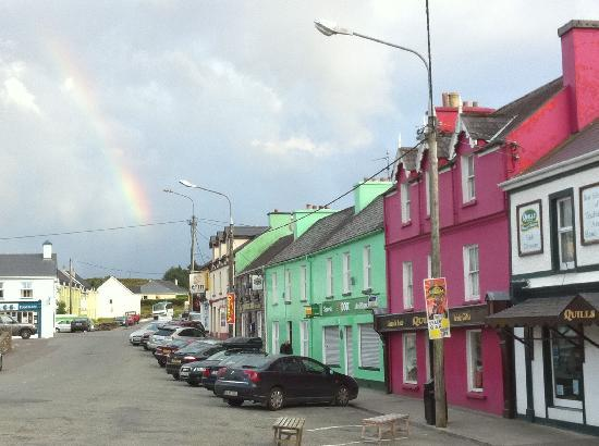Coomassig View: Rainbow over Sneem