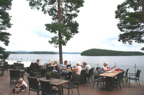 Falun, Sweden: Främby Udde Restaurant