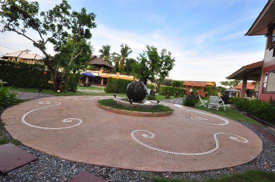 Nan Boutique Hotel : the garden