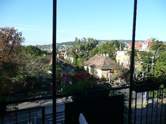 Gardonyi Guesthouse: View from the balcon