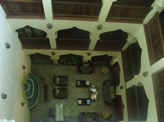Asmini Palace Hotel: View of the floors