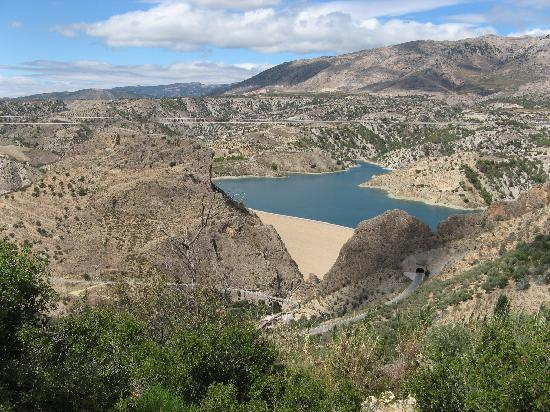 Castril De La Pena, Spagna: One of the Reservoirs