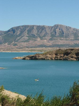 Castril De La Pena, Spain: Reservoir