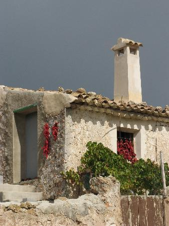 Castril De La Pena, Spanien: Old houses and farms