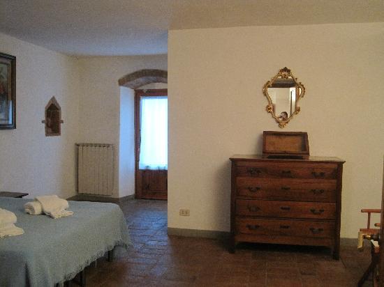 Fattoria Pratale: 寝室も広いです