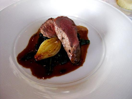 Sky Room Restaurant: antelope steak