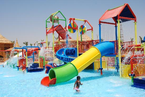 Aqua Blu Sharm : kids area