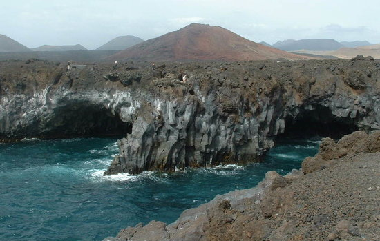 Lanzarote, Spain: General view of the caves