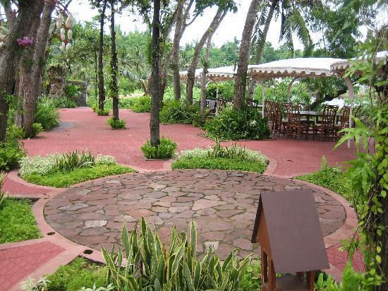 Roxas City, Philippines: The tent area