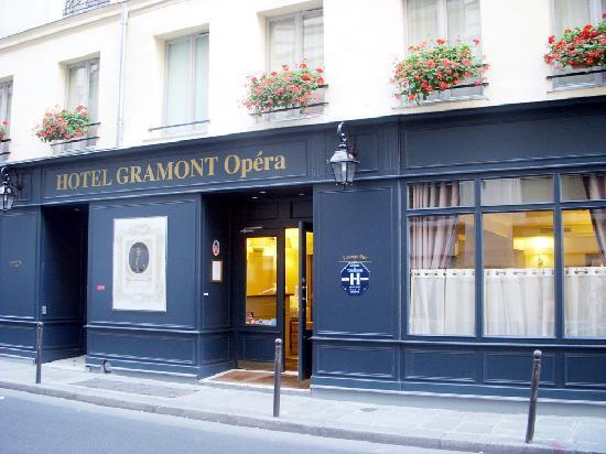 Hotel Gramont Opera Paris: ホテル外観