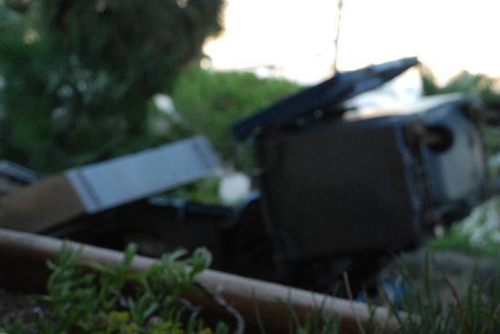 Maeva Residence Louis Lumière : ramassage des poubelles à domicile!!!