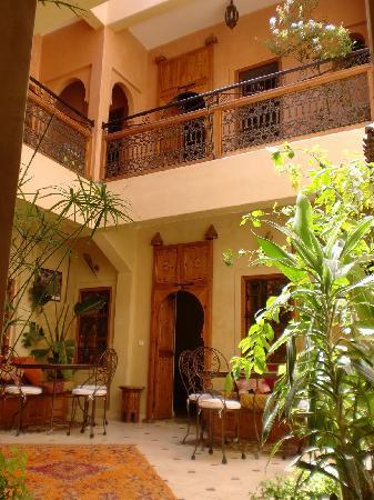 Riad Dar Othmane: Patio