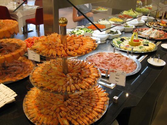 Hipotels Cala Millor Park : plat de crevette