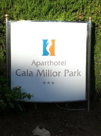 Hipotels Cala Millor Park : entrée de l'hotel