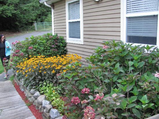 Adirondack Diamond Point Lodge: Side of the house