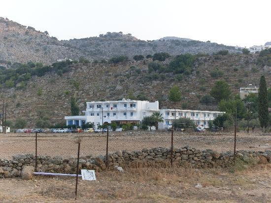 Lindos White Hotel and Suites: l'hotel immerso.....nel nulla!!!