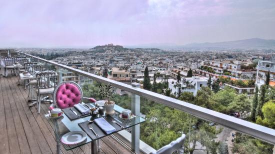 Saint George Lycabettus: Grand Balcon -St.George Lycabettus Hotel Athens 2