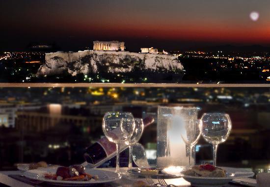 Saint George Lycabettus: Grand Balcon -St.George Lycabettus Hotel Athens