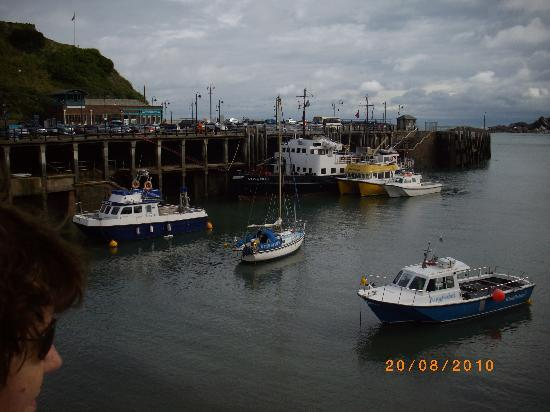 Imperial Hotel: ILFRACOMBE HARBOUR !!