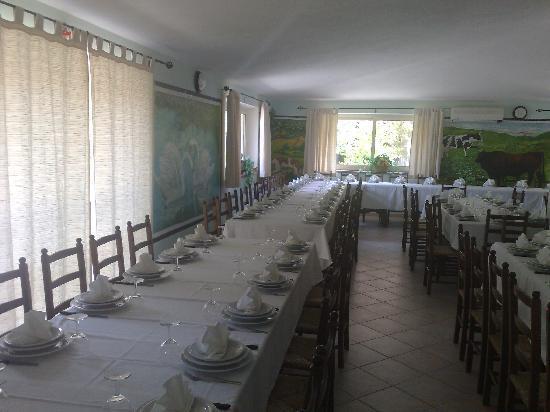 Agriturismo La Quercia : sala interna