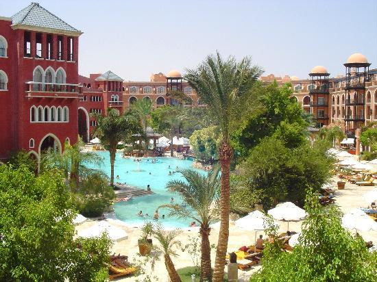 blick vom hotelzimmer  Grand Resort 5*, Єгипет,  Хургада - photo