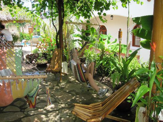 Hotel Xalteva: Patio area perfect for reading or naps
