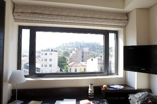 O&B Athens Boutique Hotel: cristalera panorámica