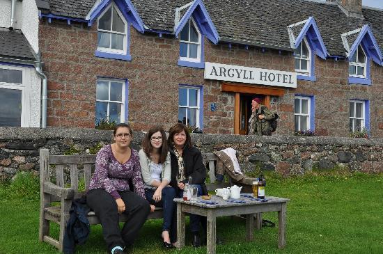 Restaurant At The Argyll Hotel Dining Al Fresco Argyle