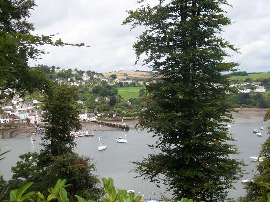 Dartmouth, UK: View across the Dart to Dittisham