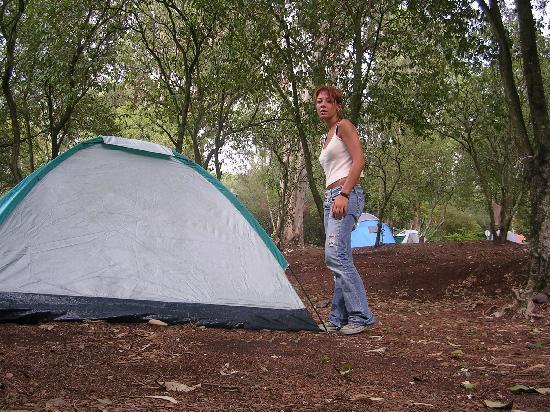 Parque Campismo Monsanto: Area campeggio