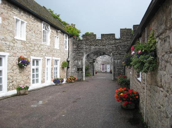 Bodelwyddan, UK : Accomodation block.