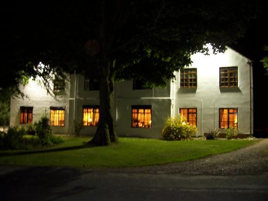 The Old Mill Hotel & Restaurant: exterior of hotel at night