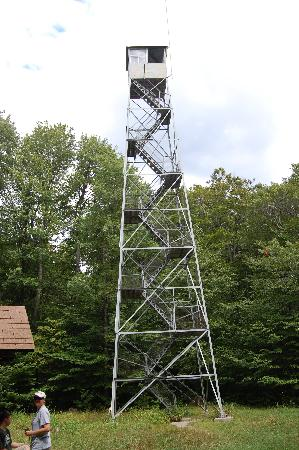 Allegany State Park Campground: Fire Watching Tower