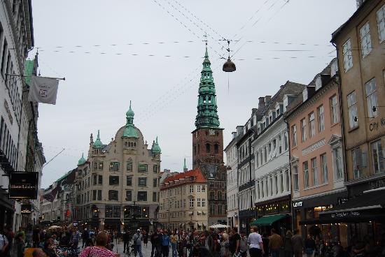 Köpenhamn, Danmark: Copenhague: calles petaonales del centro