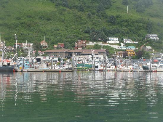 Kodiak Adası, AK: Downtown Kodiak offers shopping, galleries, picturesque harbors and the fresh catch of the day a