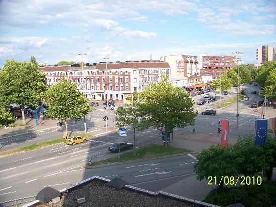 Panorama Inn Hotel And Boardinghaus: Blick auf Billstedter Hauptstraße I