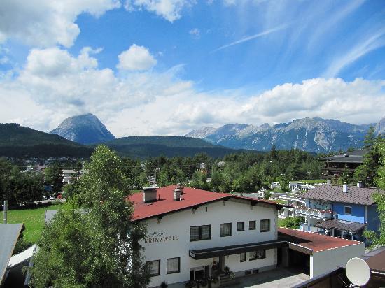 Pension Krinserhof: Blick über Seefeld vom Krinserhof