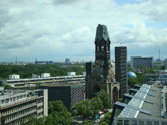 Swissotel Berlin: view of Berlin, from hotel