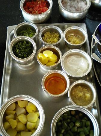 The Oberoi Rajvilas: clase cocina