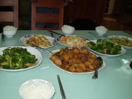 Cerro Punta, Panama: comida del lugar, estilo china