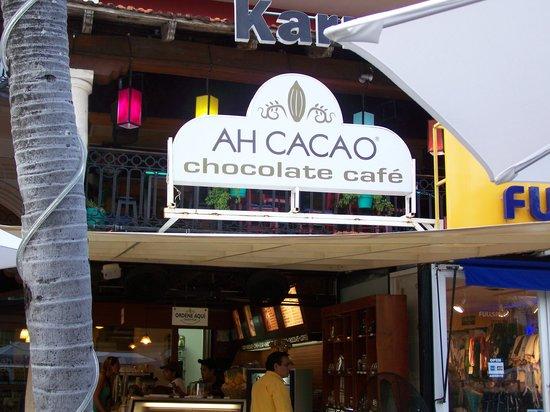 Ah Cacao Chocolate Café: la façade