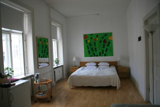 Copenhagen International B&B: Bedroom
