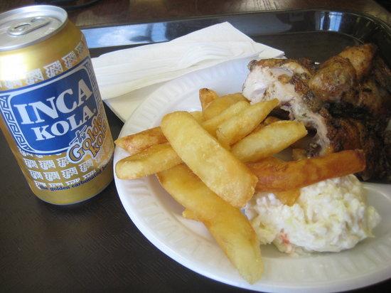 El Pollo Rico: Good, simple meal