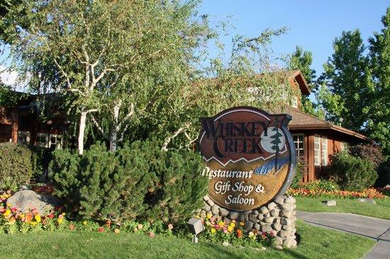 Whiskey Creek Restaurant : Eingang zum Whiskey Creek