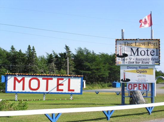 Canso, Canada: Ansicht von der Strasse