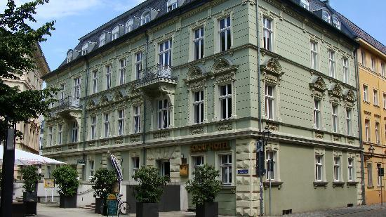 Cottbus, Deutschland: The Hotel
