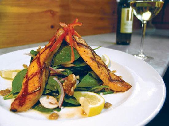 Il Fornaio: Salmon Spinachi