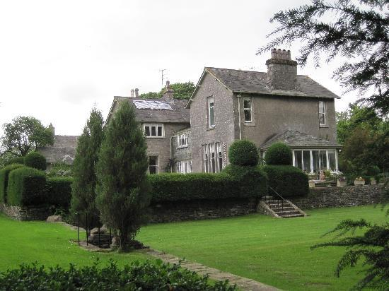 Kendal, UK: A view of the house across one of the lawns
